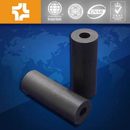 Filled with carbon or graphite Black PTFE tube