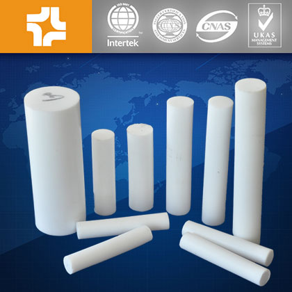 Recycled materials Plastic PTFE teflon rod / bar