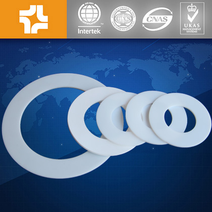 Virgin materials Plastic PTFE teflon gasket
